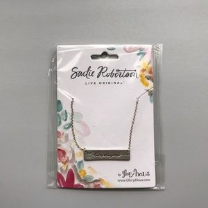 "Sadie Robertson ""Live Original"" Necklace"
